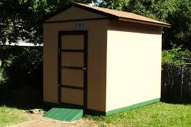 8x10 free storage shed plan