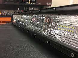 Truxtech Light Bar X3 Rows Light Bars