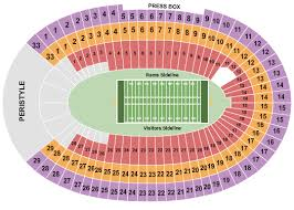 La Coliseum Usc Football Seating Chart Www