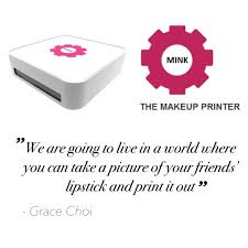 is this make up printer bringing down the 55 billion make up industry