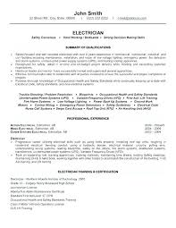 Automotive Electrician Cover Letter Electrician Auto Electrical