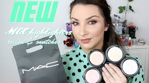NEW <b>MAC</b> Extra Dimension Skinfinish Highlighters - Review ...