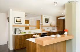Tiny Apartment Kitchen Apartment Small Kitchen Idea For Apartment With Veneer Storage