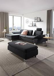 Wohnlandschaft In Grau Textil Von Venda Home Modern