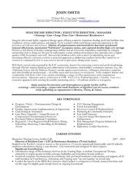 Executive Director Resume Sample