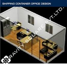 shipping container office plans. Shipping Container Frame - Office Design Manufacturer From Delhi Plans