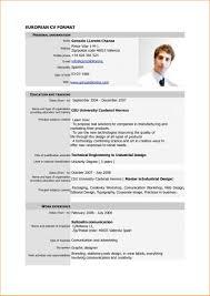 Sample Resume For Applying A Job Image Large Size Simple Cv Format