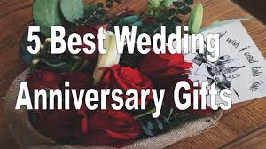 5 best wedding anniversary gifts for couples
