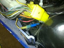 2002 tl1000r charging electrical issues mod your current oem headlight wiring system will still need to be in operating status as your headlight mod still uses it hence you must fix this