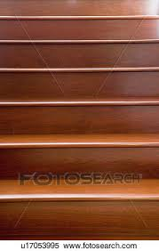 detail of wooden steps