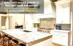charming countertop options and cost countertop kitchen countertops comparison chart
