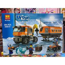 BELA 10440 URBAN ARCTIC - Bộ lắp ráp xe vận tải chuyên chở - 394 chi tiết - Đồ  chơi xếp hình lắp ghép . giảm chỉ còn 300,000 đ