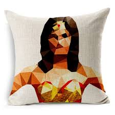 super heroes wonder woman cushion pillow usa best gadgets