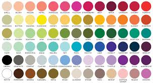 Eternal Ink Colour Chart Standard Ink Colors Impress Ink Stationery Design Studio