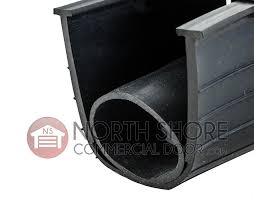 ultra rubber garage door t end bottom rubber weather seal