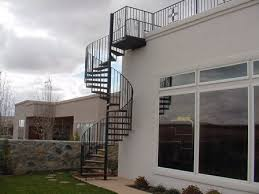 exterior wood spiral staircase. spiral and straight project for awesome exterior staircase wood