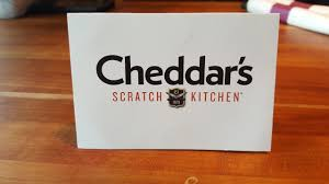 100 cheddar s scratch kitchen gift card to treat your team