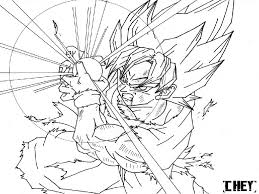 cool dragon ball z coloring pages page free in