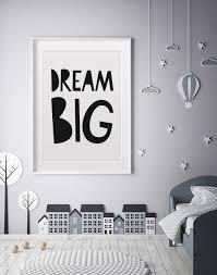 dream big wall art by mini learners