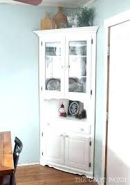 small corner hutch dining room corner cabinet distressed oak corner cabinet corner cabinet corner hutch cabinet