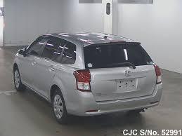 2012 Toyota Corolla Fielder Silver for sale | Stock No. 52991 ...