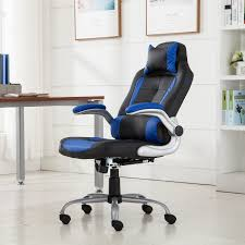 office reclining chair. Executive-Racing-Style-High-Back-Reclining-Chair-Gaming- Office Reclining Chair S