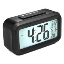 Alarm Clock, Arespark Silent Digital Bedroom Alarm Clock With Date And  Temperature Display  Snooze