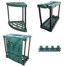 garden tool trolley rack organiser