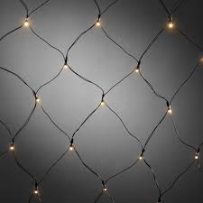 Battery Operated Net Lights With Timer Konstsmide Christmas Battery Operated Net Light 40 Warm White Leds 80cm X 80cm Black Cable Timer Dusk Till Dawn Sensor