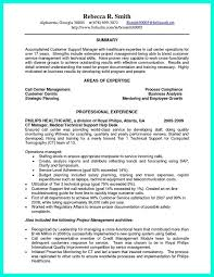 Example Of A Customer Service Resume Custom Cover Letter Samples For Healthcare Call Center Customer Service