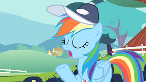 image rainbow dash being professional se png my little pony file rainbow dash being professional s4e05 png
