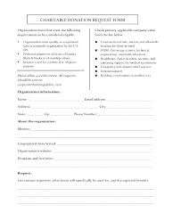 Donation Form Templates