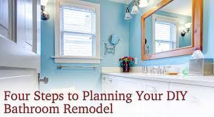 27 jan four steps to planning your diy bathroom remodel