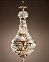 restoration hardware 19th c french empire crystal chandelier 21