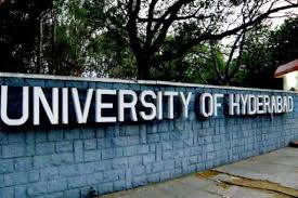 hyderabad university courses offered