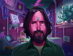 "ArtStation - Duncan Trussell and the wonderful world of ""The Midnight  Gospel"", William Burns"