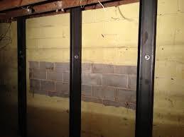 fixing cracks in basement walls. Photo Helical Tiebacks Filed Under Basement Foundation Repair Intended Fixing Cracks In Walls