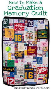 How-to-Make-a-Graduation-Memory-Quilt.jpg & Katie's Graduation Memory Quilt Adamdwight.com
