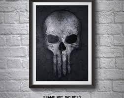 punisher skull poster punisher wall