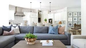 BECKI OWENS - Olympic Way Project. This living room was transformed ...