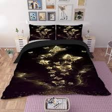 fl skull duvet cover quilt cover pillow cases twin full queen king double gothic bedding set tree woman erfly cool twin comforter sets king