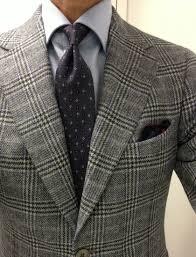 Purple Tie Light Blue Shirt Grey Glen Plaid Jacket Light Blue Shirt Purple Tie Smart