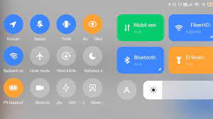 Xiaomi Telefonlarda bildirim panelini değiştirme - YouTube