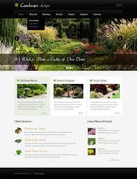 Landscape Website Designers Landscape Design Joomla Template