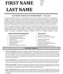 Construction Superintendent Resume Templates Beauteous Superintendent Resume Resume Badak