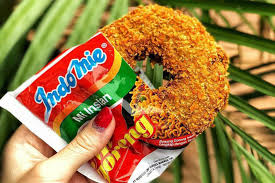 Where To Find Indomie Flavoured Doughnuts Donut In Now Jakarta