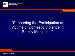 Supporting The Participation Of Victims Of Domestic Violence