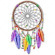 Dream Catcher Symbolism Classy Dreamcatcher Rainbow Feathers By Bluedarkat GraphicRiver
