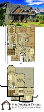 Small 3 Bedroom Cabin Plans Small Cottage Plan With Walkout Basement House Small Cottage