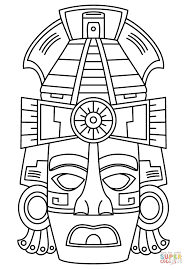 Mayan Coloring Pages With Mayan Calendar Coloring Page Marjorie